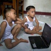 Photo taken at Ruangan Santai ( N0nt0n TV ) by Noy Z. on 2/25/2012