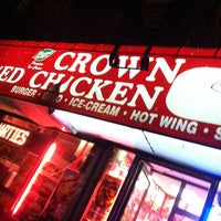 Photo taken at Crown Fried Chicken by Rob Deezy on 6/1/2012