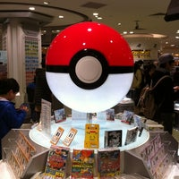 Photo taken at Pokémon Center Osaka by yasutoshi y. on 2/26/2012