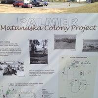 Photo taken at Palmer Matanuska Colony Project by Gary M. on 5/18/2012