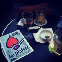 Photo taken at Esplanade Saint-Eustache by Julien D. on 7/18/2012