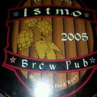 Photo taken at Istmo Brew Pub by Mario T. on 2/1/2012