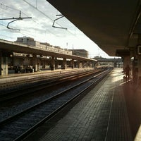 Photo taken at Padua Railway Station (QPA) by Brunetto Z. on 6/4/2012