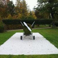 Photo taken at Kurpark Thumersbach by Sebastian R. on 10/26/2011