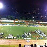 Photo taken at Estadio Alfonso López by Frances Marcela H. on 8/25/2011