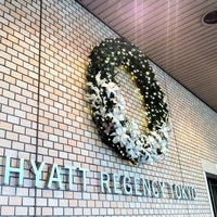 Photo taken at Hyatt Regency Tokyo by Toshihiro N. on 11/24/2011