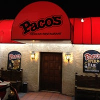 Photo taken at Paco's Mexican Restaurant by Gio on 3/3/2012