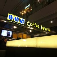 Photo taken at Coffee World by Ku Rabika H. on 9/8/2012