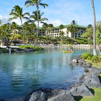 Photo taken at Grand Hyatt Kauai Resort & Spa by Carlos V. on 9/7/2012
