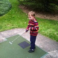 Photo taken at Village Greens Miniature Golf by Allison M. on 4/28/2012