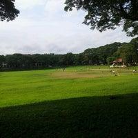 Photo taken at Sunken Garden by Mark Philip T. on 8/21/2012