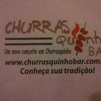 Photo taken at Churrasquinho Bar by Marcelo k. on 5/14/2012