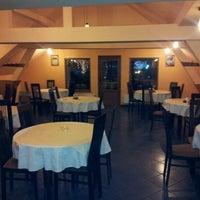 Photo taken at Restaurant Izabella Vendéglö by Robert D. on 11/19/2011