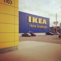 Снимок сделан в IKEA пользователем Justin H. 1/27/2012