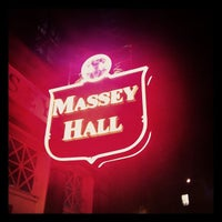 Photo taken at Massey Hall by Kevin C. on 10/22/2011