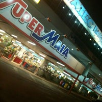 Photo taken at Super Maia Supermercados by Ana T. on 10/16/2011