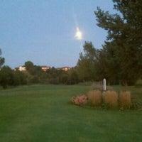 Photo taken at Brandon Golf Course by Patrick R. on 9/15/2011