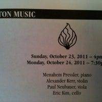 Photo taken at First Unitarian Church of Cincinnati by LeAnne A. on 10/23/2011