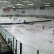 Photo taken at Kettle Moraine Ice Center by Brian F. on 1/29/2012