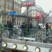 Photo taken at Métro Odéon [4,10] by Longboard34 D. on 1/18/2012