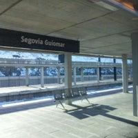 Photo taken at Estación de Segovia-Guiomar by EXPRESO d. on 1/17/2012