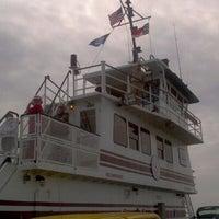 Photo taken at Hatteras-Ocracoke Ferry: Ocracoke Terminal by Trent S. on 4/25/2011