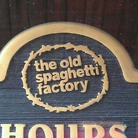 Photo taken at The Old Spaghetti Factory by Mark M. on 5/23/2012