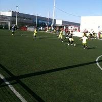 Photo taken at Escuela Fútbol L'Aljub by Fernando G. on 6/23/2012