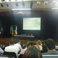 Photo taken at Salão de Atos Feevale by Felipe S. on 3/20/2012