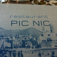 Photo taken at Pic Nic Restaurant by Oriol G. on 6/2/2012