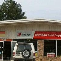 Photo taken at Brandon Auto Supply by Kobe S. on 2/16/2012