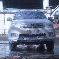 Photo taken at Jaya Car Wash by Adi j. on 7/15/2012