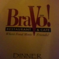 Photo taken at BraVo! Restaurant & Cafe by Janelle R. on 1/31/2011