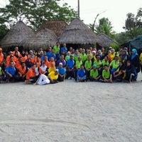 Photo taken at Agrotek Garden Resort by Putri Ira F. on 1/14/2012