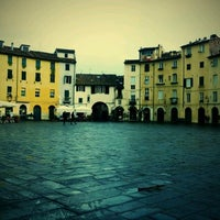 Photo taken at Piazza dell'Anfiteatro by Niccolo' P. on 12/3/2011