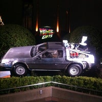 Photo taken at Back To The Future - The Ride by HIK on 11/19/2011
