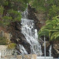 Photo taken at Waterfalls by LOUTRAKI's ParkHotel G. on 12/6/2011