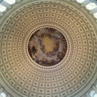 Photo taken at Rotunda of the U.S. Capitol by Sasha ⭐️ B. on 1/20/2012