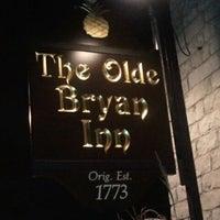 Photo taken at Olde Bryan Inn by Tina K. on 10/10/2011