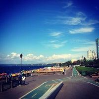 Снимок сделан в Новая набережная (2-я очередь) пользователем Катюша Ш. 8/25/2012