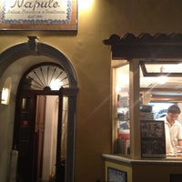 Photo taken at Pizzeria Trattoria Napule 南青山店 by Wingfeet on 5/3/2012