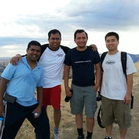 Photo taken at Mission Peak (top) by Ratnakar V. on 8/18/2012
