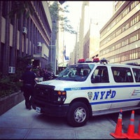 Photo taken at NYPD - Midtown South Precinct by Nicole A. on 5/18/2012