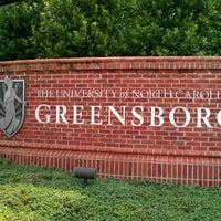 Photo taken at University of North Carolina at Greensboro by AJ J. on 5/16/2012