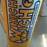 Photo taken at Which Wich? Superior Sandwiches by Josh L. on 8/14/2011