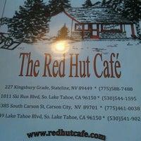 Photo taken at The Red Hut Café by Caradwen B. on 7/2/2012