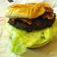 Photo taken at Nation's Giant Hamburgers by Ira S. on 11/5/2011