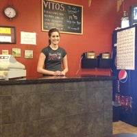 Photo taken at Vito's Pizza by Carol D. on 1/7/2012