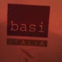 Photo taken at Basi Italia by Bonita I. on 11/12/2011