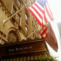 Photo taken at The Benjamin Hotel by Tadinda Seyahat on 8/25/2012